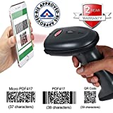 RETSOL D-3030 2D QR Code Laser Barcode Scanner USB Wired Optical Reader