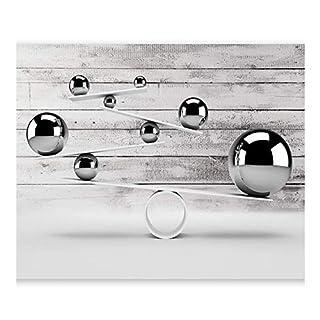 Tapete Vlies Premium Kunstdruck Fleece Fototapete Dekoration Poster Bild Design Moderne Abstrakte Bälle Ball 3D, 400 * 280 cm