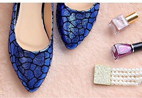&qq Fashion ladle chaussures femmes, chaussures plates, plates avec des chaussures de bateau 39