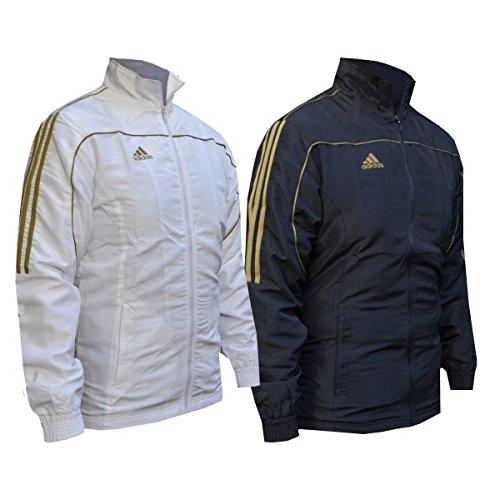 Giacca tuta adidas gold stripes 164 nero