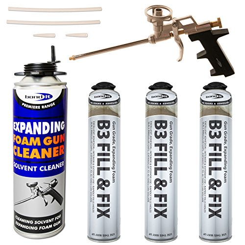 kit-3-x-750ml-expanding-foam-cans-1-x-professional-gun-1-x-500ml-gun-cleaner-pu-grade