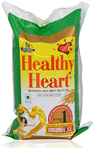 Healthy Heart Oil – Rice Bran, 1000ml Pouch
