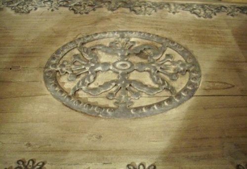 Wunderschöne Holztruhe Truhe Holzbox Länge: 68cm -
