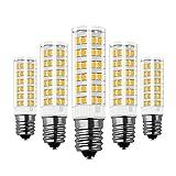 Glühbirne E14 LED, RANBOO, 7W Ersatz für 60W Halogenlampen, Nicht Dimmbar, 450lm, Warmweiß 3000K, 360°Abstrahwinkel, LED Leuchtmittel SES E14, Edison Schraube LED Birnen 220-240V AC, 5er Pack