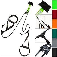 eaglefit  ® Sling Trainer Base, Schlingentrainer mit Umlenkrolle und Türanker
