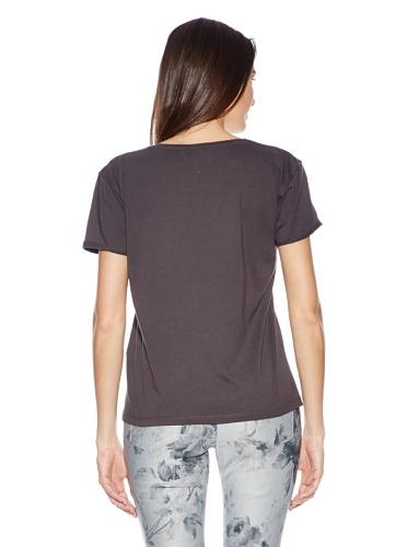 SELECTED FEMME T-Shirt Grau anthrazit Damen: Small Grau