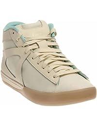 Puma MCQ Step Mid Men US 8. 5 White Tennis Shoe