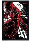 Marvel Comics in schwarzes Holz eingerahmtes Daredevil Maxi Poster 61 x 91,5 cm