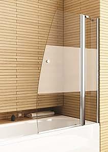 AQUAFORM Badewannenaufsatz »Deli« ohne Antikalk-Versiegelung, chromfarben