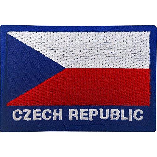 Parche coser planchar bandera República