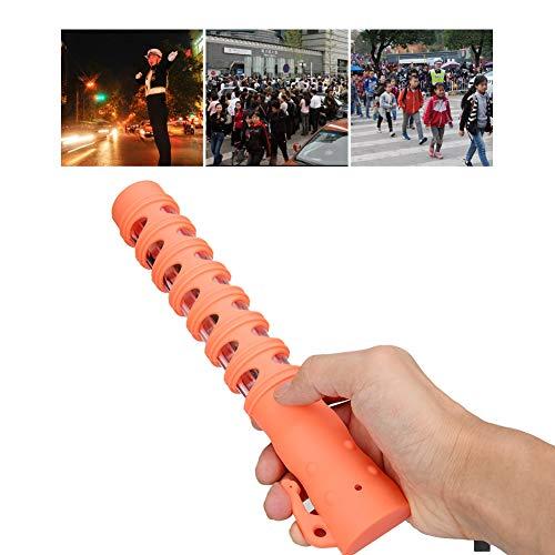 Warning Light Systems,Warnstab, Traffic Control Magnet Multifunktionale Taschenlampe LED-Lampe, robustes Design, stoßfest und wetterfest (Orange) (EU) Emergency Beacon
