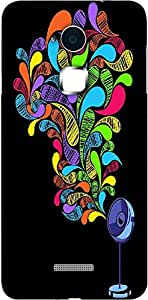 Timpax Protective Hard Back Case Cover Printed Design : Colours in the sky.Specifically Design For : Coolpad Note 3