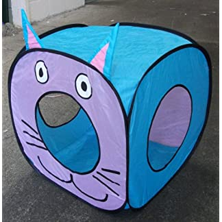 Big Cat Fun Cube - Pop Up Play Cube for Larger Cats Big Cat Fun Cube – Pop Up Play Cube for Larger Cats 51qAmJatN L