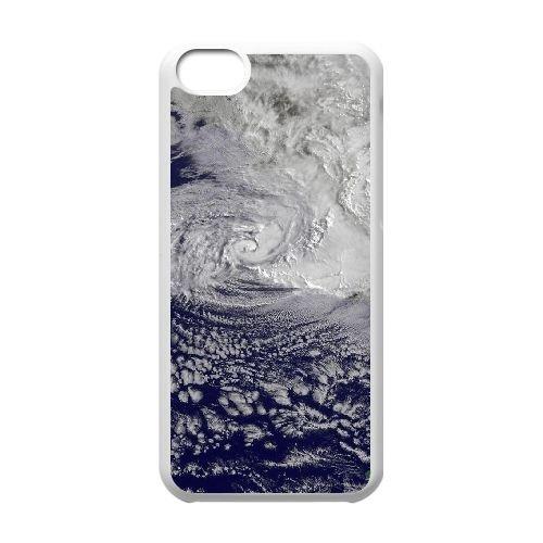 Cyclone 33 33 coque iPhone 5C Housse Blanc téléphone portable couverture de cas coque EBDXJKNBO15933