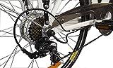 LLobe Erwachsene 28 Zoll City E-bike Blanche, Weiß, 49 cm, 130705 -