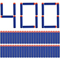 Yosoo 400pcs espuma suave dardos dardos bala para Nerf N-Strike Elite serie Blasters 7,2 x 1,3 cm - Azul