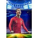 Earendel Legendärer Stern Cristiano! Portugiesischer Fußballmannschaftskapitän Ronaldo HD Poster Zu Gewinnen Fans Dekorative Sport Wandaufkleber