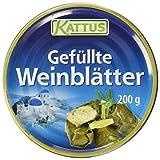 Kattus Gefüllte Weinblätter, 3er Pack (3 x 200 g)