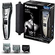 Panasonic ER-GB80  Beard, Hair and Body Trimmer Wet and Dry (40 x Lengths, Three Attachments)