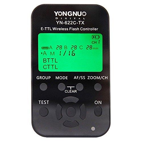 YONGNUO YN-622C-TX E-TTL Funkauslöser für Canon mit NAMVO Diffuso