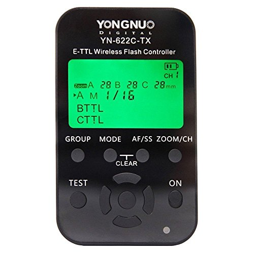 Yongnuo YN-622C-TX E-TTL Funkauslöser für Canon mit WINGONEER Diffusor
