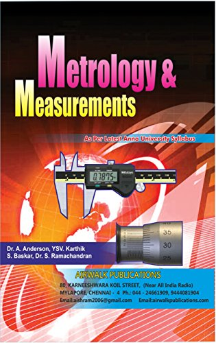 METROLOGY AND MEASUREMENTS (English Edition) -