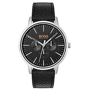 Hugo Boss Orange Reloj Multiesfera para Hombre de Cuarzo con Correa en