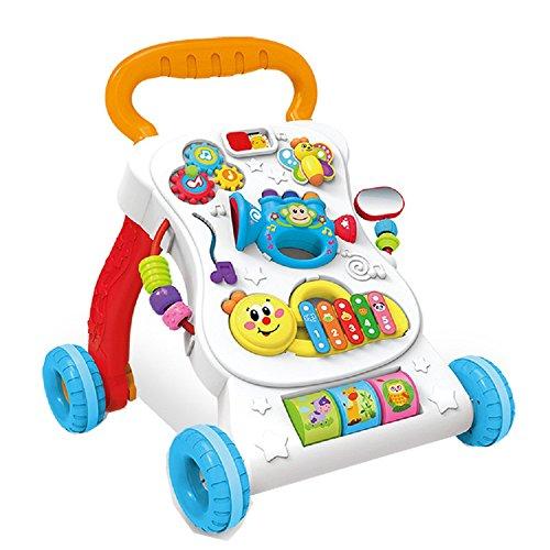 Baby Spiel und Laufwagen Lauflernhilfen Babyspielzeug Motorikspielzeug Baby Kleinkindspielzeug (B)