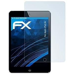 atFoliX Displayschutzfolie für Apple iPad Air Schutzfolie - 2 x FX-Clear kristallklare Folie