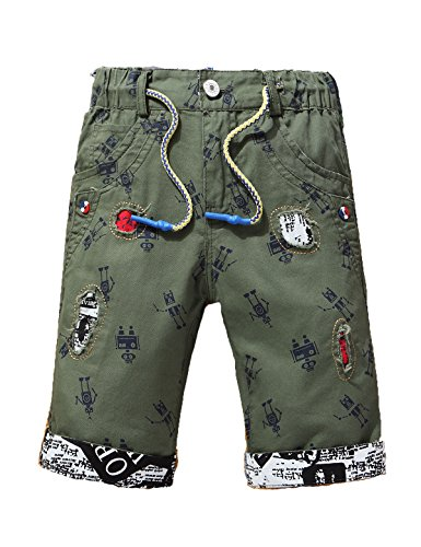 Minuya Kleinkind Kinder Baby M/ädchen Kleidung Einfarbig Basic Shorts Sommer Pumphose