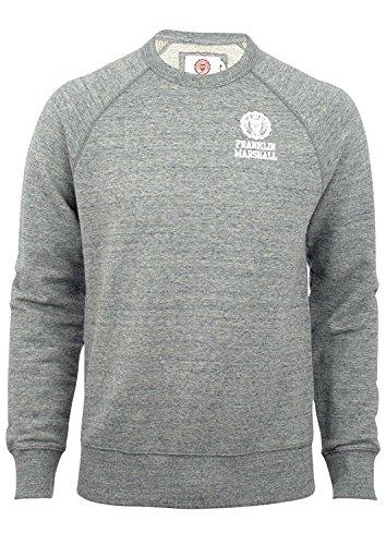 Franklin-Marshall-Mens-Tuta-Crew-Tracksuit-Sports-Grey-Marl