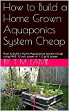 How to Build a Home Grown Aquaponics System Cheap: How to build a home Aquaponics system cheap using FREE 12 volt power or 110 grid power