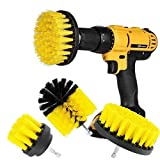 3Pcs/Set Cleaning Drill Brush Wall Tile Grout Power Scrubber Tub 2/3.5/4 inch Cleaner