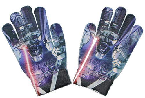 Disney Star Wars Kinder ONE SIZE Handschuhe (Blau)