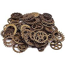 100g Steampunk Zahnräder Gothic Charms Antik Bronze aus Metall