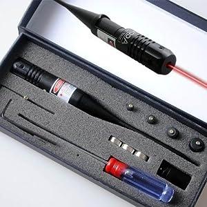 TUOFENG Red dot alésage laser Sighter Boresighter .22.50 calibre fusil de chasse portée