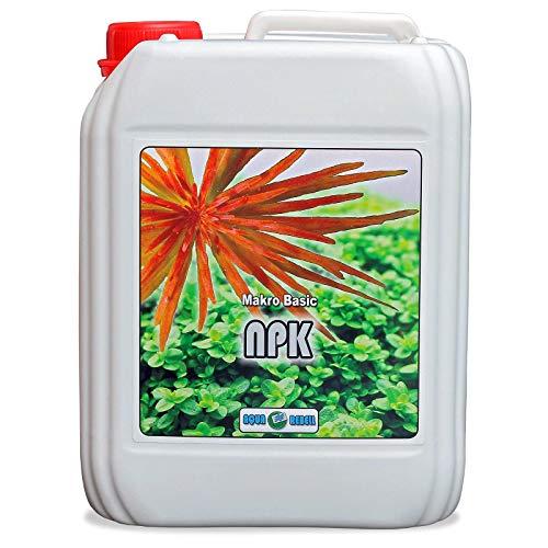 Makro Basic NPK 5L | Wasserpflanzen Aquarien-Dünger zur optimalen Versorgung von Pflanzen im Aquarium (5L) -