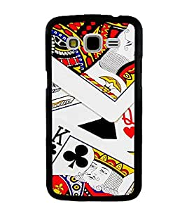 PrintVisa Designer Back Case Cover for Samsung Galaxy J7 J700F (2015) :: Samsung Galaxy J7 Duos (Old Model) :: Samsung Galaxy J7 J700M J700H (Playing Cards King And Queen )