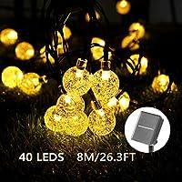 Guirnaldas luminosas de exterior | Amazon.es