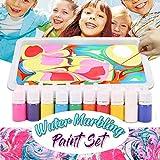 2019 Wasser marmorierung Malerei Sets, 6 Farben Wasser Marmorierung Papier Ebru...