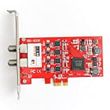 TBS6205 DVB-T2 e DVB-C Scheda PCIe ricevitore Quad Sintonizzatore 4 In 1 HD Terrestre Tuner Ricevitore Per PC Desktop Con Driver Linux e Driver Windows