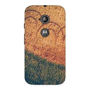 Neo World Grass Design Back Case Cover for Moto E 2nd Gen