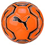 Puma Futsal 1 Trainer MS Ball Fußball, Shocking Orange Black White, 4
