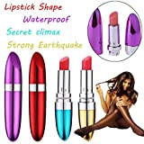 Lippenstift G-Spot Massager, ❤️ Jiegreat ❤️ Women G-Spot Vibrating Clitoral Lipstick Vibrator Massager Adult Sex Toy (Blau)
