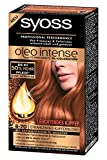 3x Syoss Oleo Intense Coloration/ Haarfarbe 8-70 Kupferblond/ Permanente Öl-Coloration/ Ohne Ammoniak