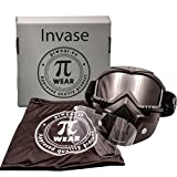 PI Wear Invase Kit dunkel/klar Brillen-Maske, Goggle-Mask, Paintball Maske