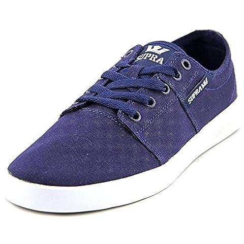 Supra Stacks II Hommes US 9.5 Bleu Chaussure de
