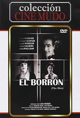 El Borrón (Import Dvd) (2013) Philip Hubbard; Margaret Mcwade; Claire Windsor; (Beobachten Nähe)