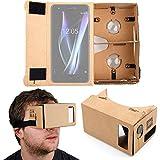 DURAGADGET Gafas de Realidad Virtual VR para Smarphones Smartphone BQ Aquaris X | X Pro