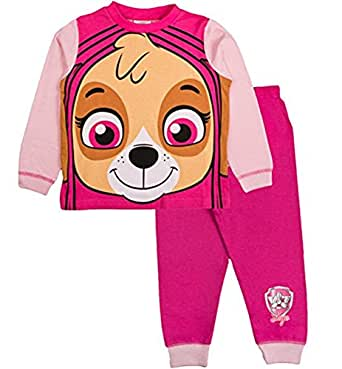 Paw Patrol Novely Pyjama Marshall PJ's Nightwear Ages 18 Months to 6 Years (18-24 Months, Skye Pink)